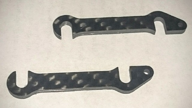 Carbon front-end shims 1.0mm